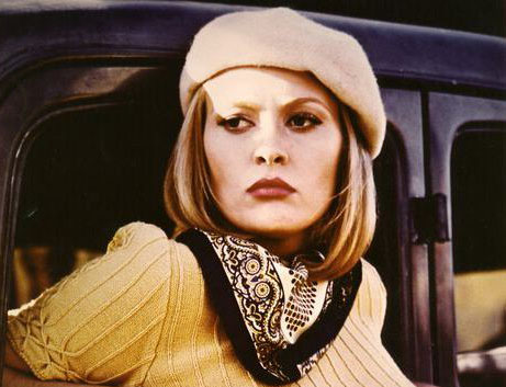 Faye Dunaway in Bonney and Clyde
